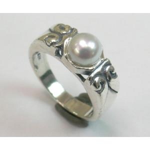 Inel argint R6168 - perla
