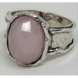 Inel argint RW3122 cuart roz