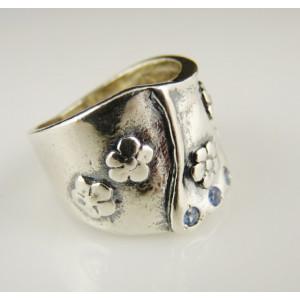 Inel argint topaz R1336