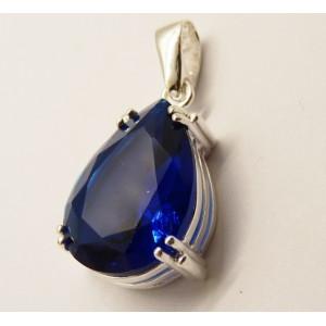 Pandantiv argint blue quartz -P3244