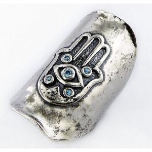 Inel argint topaz Mana Fatimei R2848