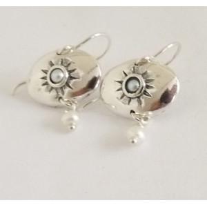 Cercei argint perla E2957