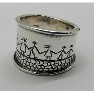 Inel argint R2755