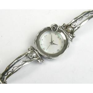 Ceas argint cu perle W4064-1