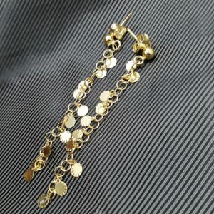 Cercei AMALFI - Banuti- din argint placat cu aur galben -ORMP1011RTD