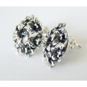Cercei argint E2739 prindere cu surub