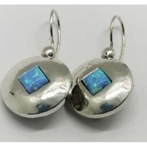 Cercei argint OPAL- E2123B