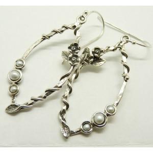 Cercei din argint- tip candelabru- E10798