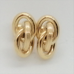 Cercei LUCCA- argint placat cu aur galben ORST2305AGL