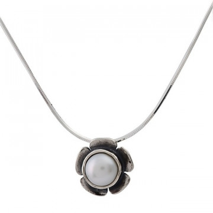 Colier argint cu perla N1546