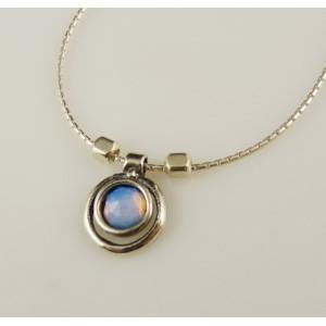 Colier argint opalit- N426-1481