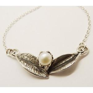 Colier argint perla N10602