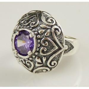 Inel argint ametist - R2718