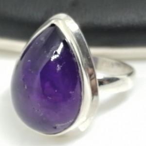 Inel argint cu ametist - R181