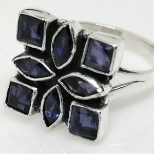 Inel argint cu iolit- R197