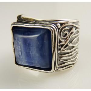 Inel argint kyanit R1022