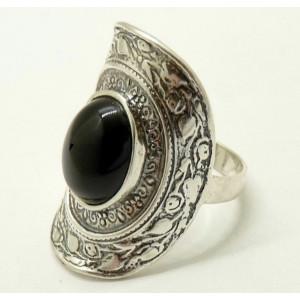 Inel argint onix R1580