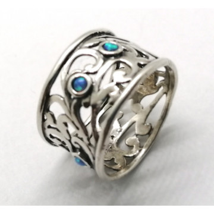 Inel argint OPAL- R3646