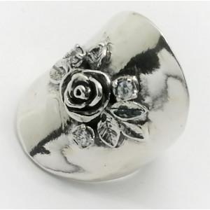 Inel argint R10421 zircon
