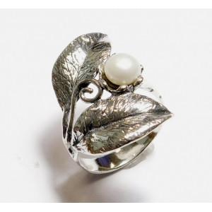 Inel argint- R10553 perla