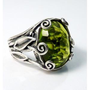 Inel argint R7039 - peridot
