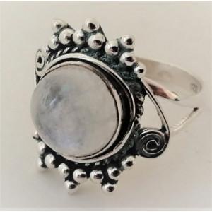 Inel argint RG152 piatra lunii