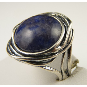 Inel argint sodalit R976