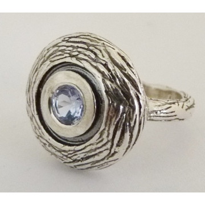 Inel argint topaz R1678