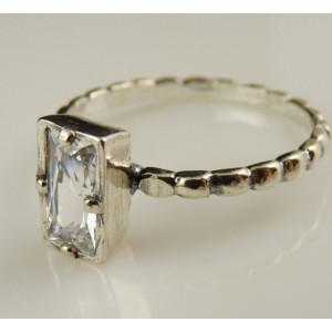 Inel argint zircon- R2725