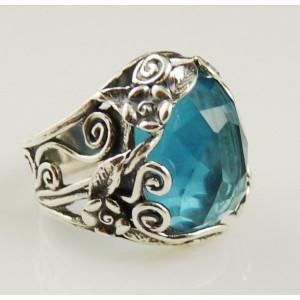 Inel din argint -topaz-R6980