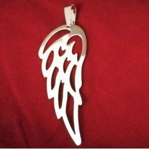 Pandantiv argint Aripa de Înger-P3637- 8 cm