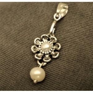 Pandantiv argint cu perla 9605SR