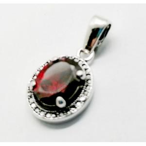 Pandantiv argint -piatra red quartz -ERG65