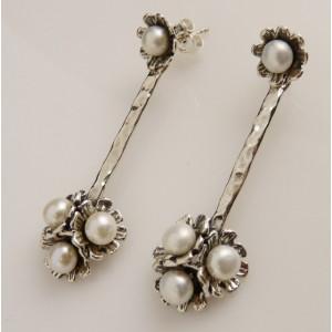 Cercei lungi din argint- tip candelabru- E10774-1