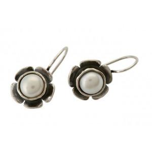 Cercei argint cu perla E1249