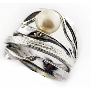 Inel argint cu perla-R2867