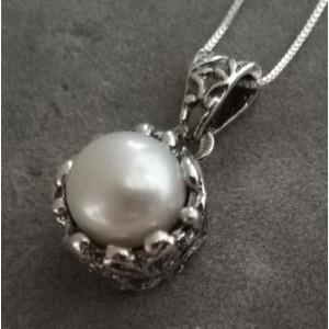 Colier argint perla -A21038-CTAC0012