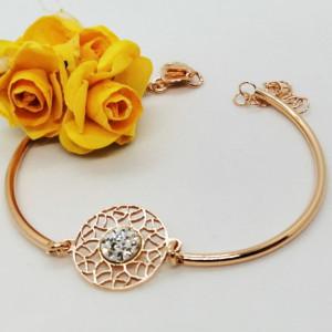 Bratara argint rose -B20 0299 -2120