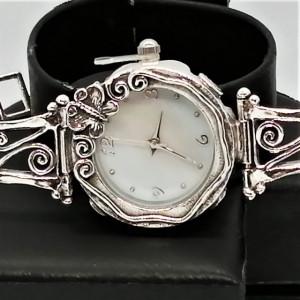 Ceas din argint cu ametist - W9022