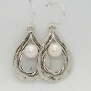 Cercei argint E9966 perla