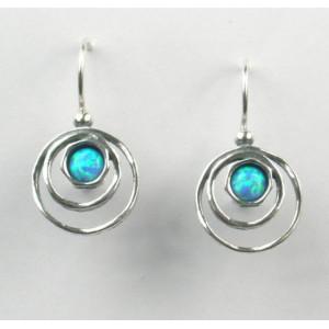 Cercei argint opal -E4256G