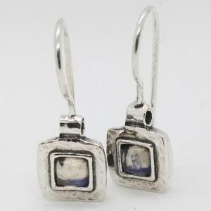 Cercei argint opalit E1686B