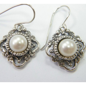 Cercei argint perla E2600