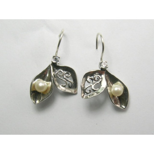 Cercei argint perla E5483