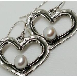 Cercei argint perla E9177