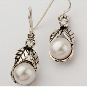 Cercei din argint - perla E1726