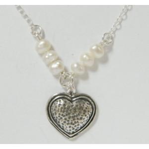 Colier argint cu perla - N2336
