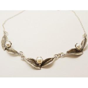 Colier argint perla N10602-3