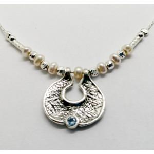 Colier argint si perle N3033