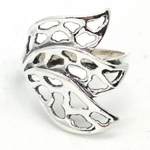 Inel argint frunzulite -R3118